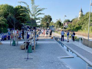 Einweihung Dorfplatz Stahringen, Radolfzell