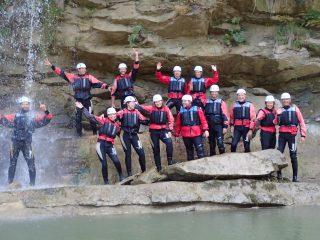 Büroexkursion 2021 - Wildwasserrafting
